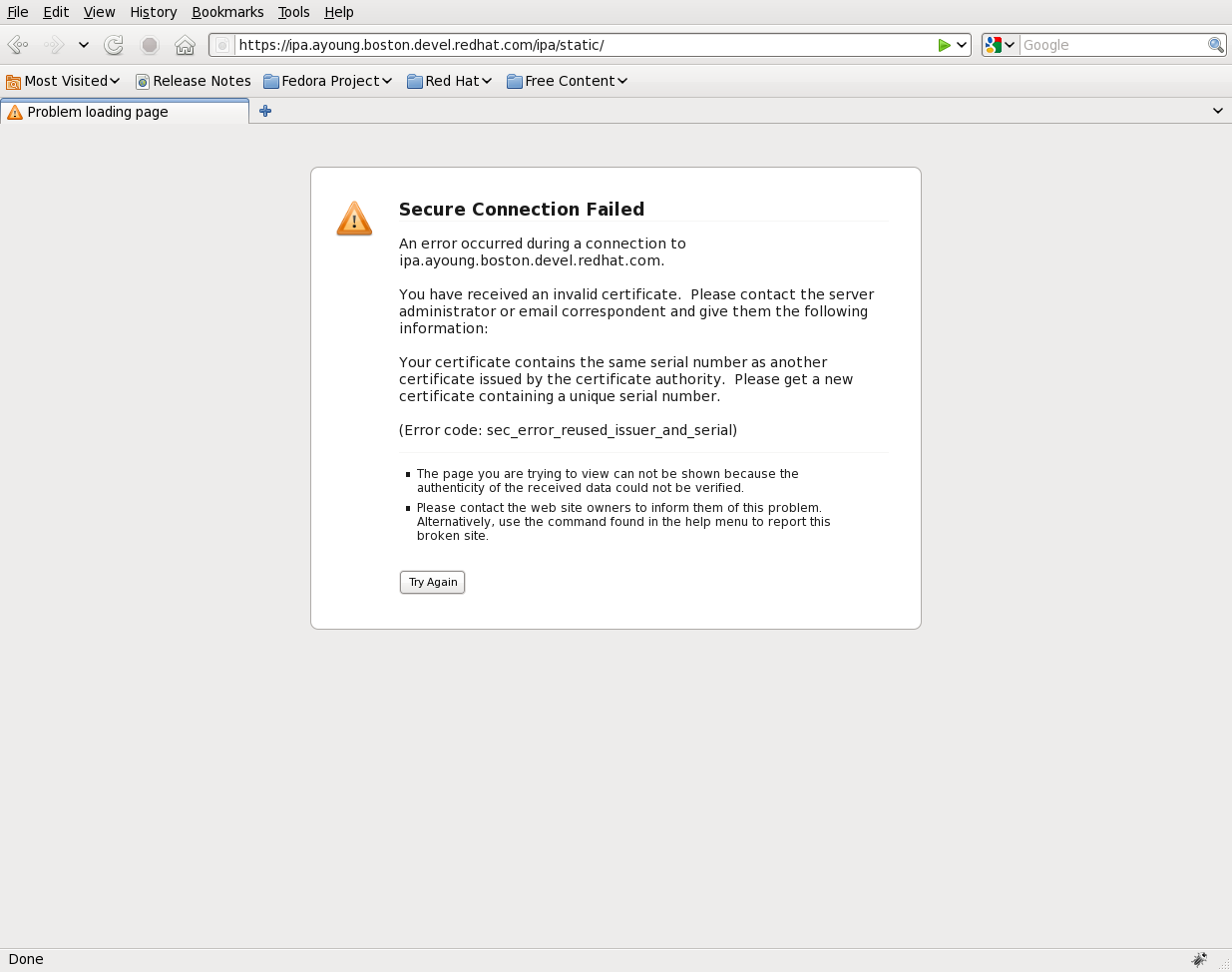 Troubleshooting Freeipa Certificate Issues Adam Youngs Web Log